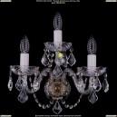 1402B/2+1/195/XL/Pa/Leafs Хрустальное бра Bohemia Ivele Crystal