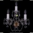 1400/3/Pa Хрустальное бра Bohemia Ivele Crystal (Богемия)