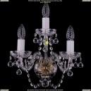 1400/3/Pa/Balls Хрустальное бра Bohemia Ivele Crystal (Богемия)