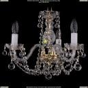 1402/3/141/Balls Хрустальная подвесная люстра Bohemia Ivele Crystal (Богемия)