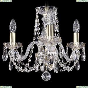 1402/3/141/G Хрустальная подвесная люстра Bohemia Ivele Crystal (Богемия)