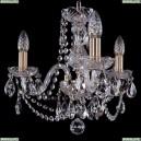 1402/3/141/Pa Хрустальная подвесная люстра Bohemia Ivele Crystal (Богемия)