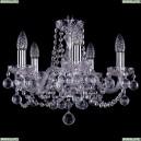 1402/5/141/Ni/Balls Хрустальная подвесная люстра Bohemia Ivele Crystal
