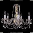 1402/5/160/G/Leafs Хрустальная подвесная люстра Bohemia Ivele Crystal (Богемия)