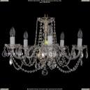 1402/5/195/G/Leafs Хрустальная подвесная люстра Bohemia Ivele Crystal (Богемия)