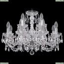 1402/8+4/195/Ni Хрустальная подвесная люстра Bohemia Ivele Crystal (Богемия)