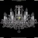 1402/8+4/195/Ni/Balls Хрустальная подвесная люстра Bohemia Ivele Crystal (Богемия)