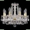 1402/8/141/G Хрустальная подвесная люстра Bohemia Ivele Crystal (Богемия)