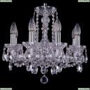 1402/8/141/Ni Хрустальная подвесная люстра Bohemia Ivele Crystal (Богемия)