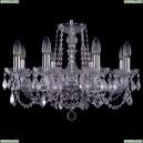 1402/8/195/Ni/Leafs Хрустальная подвесная люстра Bohemia Ivele Crystal (Богемия)
