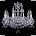 1402/10/141/Ni/Balls Хрустальная подвесная люстра Bohemia Ivele Crystal