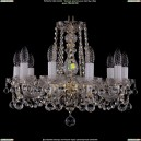 1402/10/160/G/Balls Хрустальная подвесная люстра Bohemia Ivele Crystal