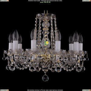 1402/10/160/G/Balls Хрустальная подвесная люстра Bohemia Ivele Crystal (Богемия)