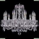 1402/10/160/Ni Хрустальная подвесная люстра Bohemia Ivele Crystal