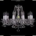 1402/10/160/Ni/Balls Хрустальная подвесная люстра Bohemia Ivele Crystal