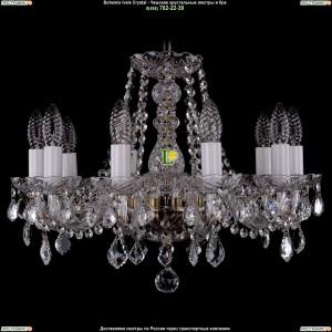 1402/10/160/Pa/Leafs Хрустальная подвесная люстра Bohemia Ivele Crystal (Богемия)