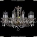1402/10/195/G/Leafs Хрустальная подвесная люстра Bohemia Ivele Crystal