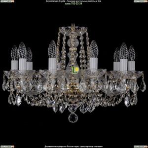 1402/10/195/G/Leafs Хрустальная подвесная люстра Bohemia Ivele Crystal (Богемия)