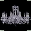 1402/10/240/Ni Хрустальная подвесная люстра Bohemia Ivele Crystal