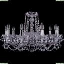 1402/10/240/Ni/Balls Хрустальная подвесная люстра Bohemia Ivele Crystal