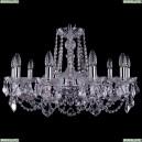 1402/10/240/Ni/Leafs Хрустальная подвесная люстра Bohemia Ivele Crystal