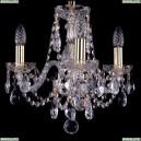 1406/3/141/G Хрустальная подвесная люстра Bohemia Ivele Crystal (Богемия)