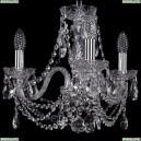 1406/3/141/Ni Хрустальная подвесная люстра Bohemia Ivele Crystal (Богемия)