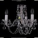 1406/3/141/Ni/Balls Хрустальная подвесная люстра Bohemia Ivele Crystal (Богемия)