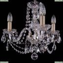 1406/3/141/Pa Хрустальная подвесная люстра Bohemia Ivele Crystal (Богемия)