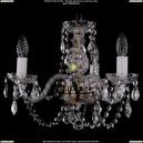 1406/3/141/Pa/Leafs Хрустальная подвесная люстра Bohemia Ivele Crystal (Богемия)