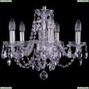 1406/5/141/Ni Хрустальная подвесная люстра Bohemia Ivele Crystal (Богемия)