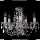 1406/5/141/Ni/Leafs Хрустальная подвесная люстра Bohemia Ivele Crystal (Богемия)