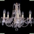 1406/5/160/G/Balls Хрустальная подвесная люстра Bohemia Ivele Crystal (Богемия)