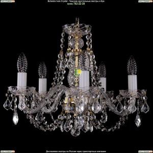 1406/5/160/G/Leafs Хрустальная подвесная люстра Bohemia Ivele Crystal (Богемия)