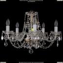 1406/5/195/G/Leafs Хрустальная подвесная люстра Bohemia Ivele Crystal (Богемия)