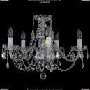 1406/5/195/Ni/Leafs Хрустальная подвесная люстра Bohemia Ivele Crystal (Богемия)