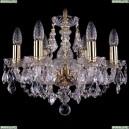 1406/6/141/G/Leafs Хрустальная подвесная люстра Bohemia Ivele Crystal (Богемия)