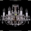 1406/6/141/Pa/Leafs Хрустальная подвесная люстра Bohemia Ivele Crystal (Богемия)
