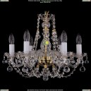 1406/6/160/G/Balls Хрустальная подвесная люстра Bohemia Ivele Crystal (Богемия)
