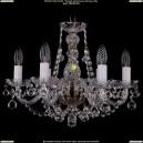 1406/6/160/Pa/Balls Хрустальная подвесная люстра Bohemia Ivele Crystal (Богемия)