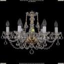 1406/6/195/G/Balls Хрустальная подвесная люстра Bohemia Ivele Crystal (Богемия)