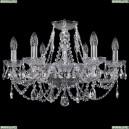 1406/6/195/Ni Хрустальная подвесная люстра Bohemia Ivele Crystal (Богемия)