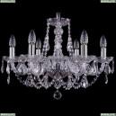 1406/6/195/Ni/Leafs Хрустальная подвесная люстра Bohemia Ivele Crystal (Богемия)