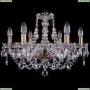 1406/6/195/Pa Хрустальная подвесная люстра Bohemia Ivele Crystal (Богемия)