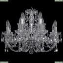 1406/8+4/195/Ni Хрустальная подвесная люстра Bohemia Ivele Crystal (Богемия)
