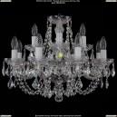 1406/8+4/195/Ni/Leafs Хрустальная подвесная люстра Bohemia Ivele Crystal (Богемия)