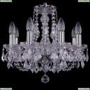 1406/8/141/Ni/Leafs Хрустальная подвесная люстра Bohemia Ivele Crystal (Богемия)