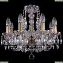 1406/8/141/Pa Хрустальная подвесная люстра Bohemia Ivele Crystal (Богемия)