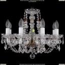 1406/8/160/Pa/Leafs Хрустальная подвесная люстра Bohemia Ivele Crystal (Богемия)