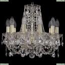 1406/10/141/G Хрустальная подвесная люстра Bohemia Ivele Crystal (Богемия)